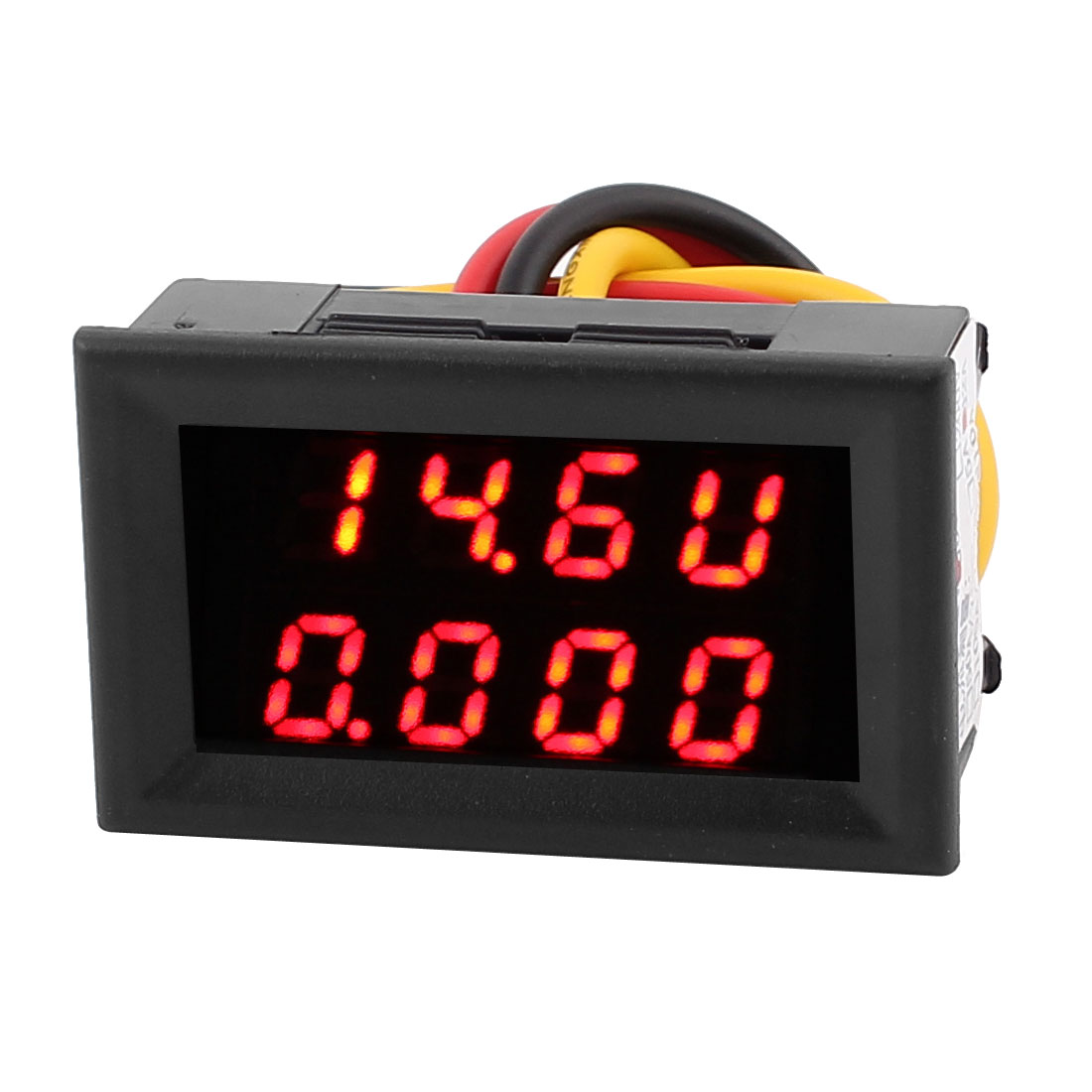 DC0-30V 0-2A Red LED Dual Digital Display Panel Voltmeter Ammeter Meter 2IN1