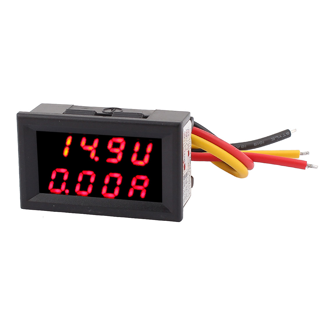 DC0-30V 0-5A Red LED Dual Digital Display Panel Voltmeter Ammeter Meter 2IN1