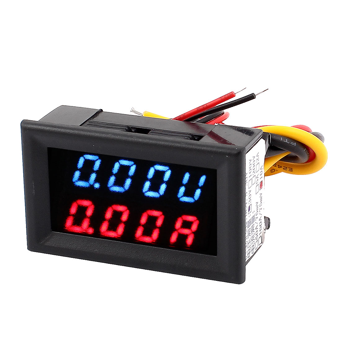 DC 0-30V 0-10A Dual LED Digital Mobile Battery Detector Voltage Current Meter