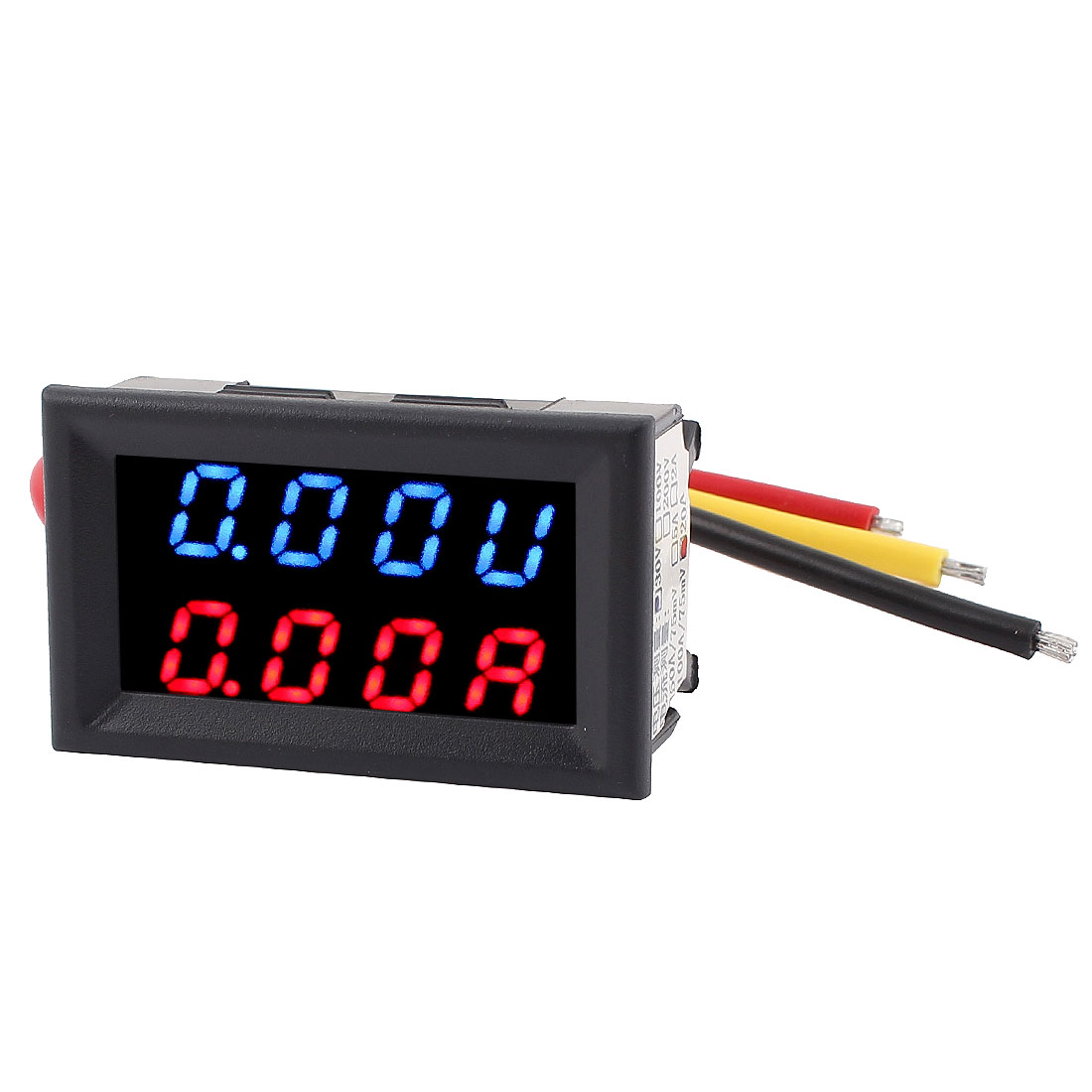 DC 0-30V 0-20A Blue Red LED Dual Digital Display Panel Voltmeter Ammeter Meter
