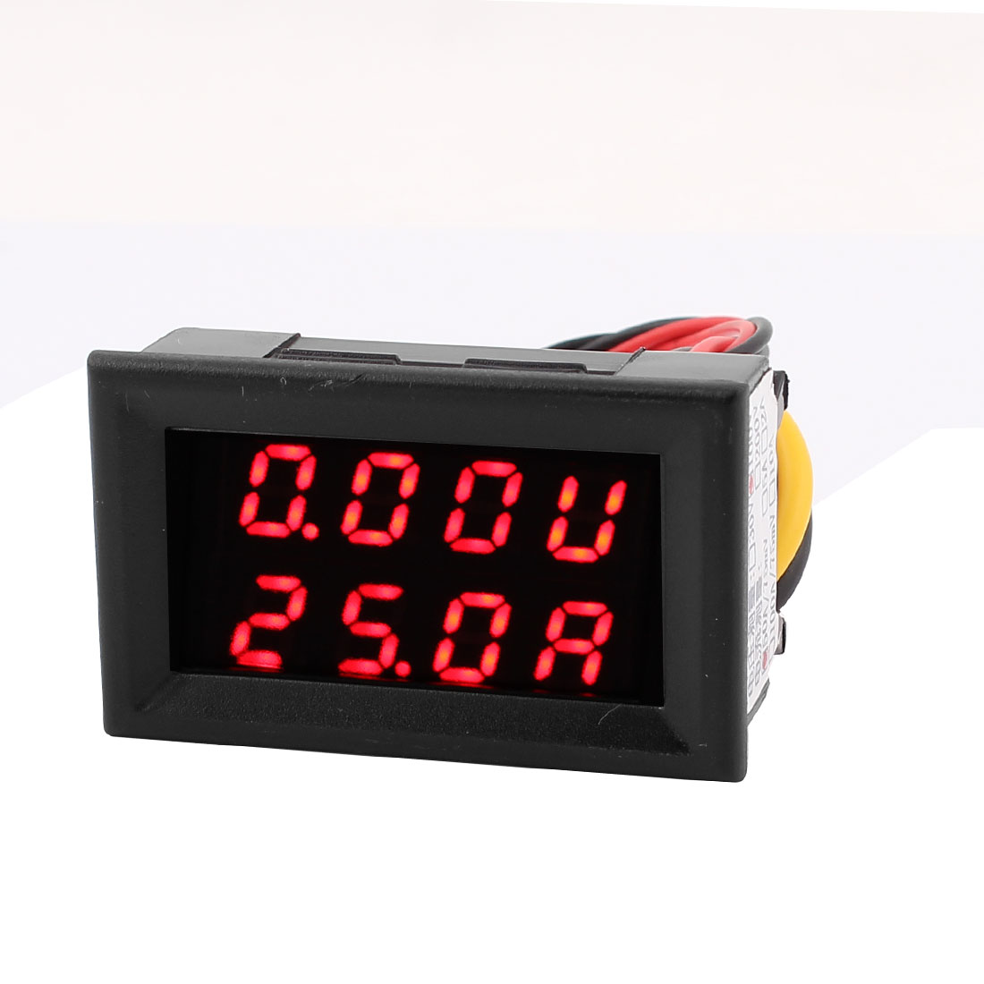 DC 0-100V 0-50A Red LED Dual Digital Display Panel Voltmeter Ammeter Meter