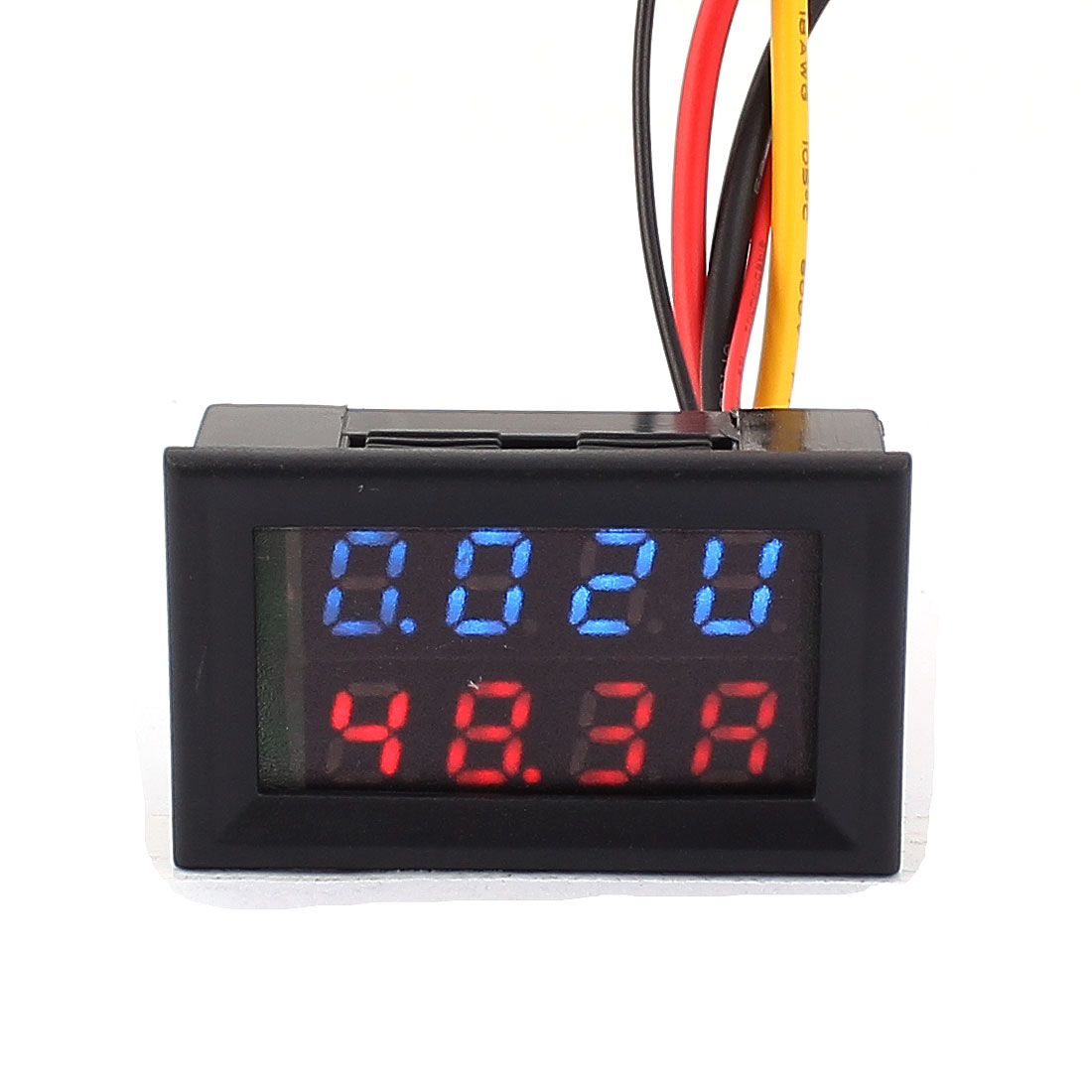 DC 0-100V 0-100A Blue Red LED Dual Digital Display Panel Voltmeter Ammeter Meter