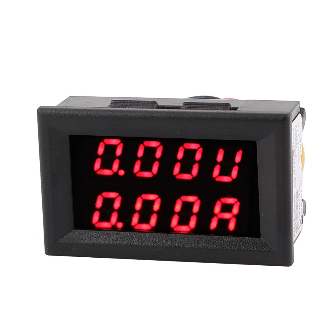 DC 0-100V 0-10A Red Red LED Dual Digital Display Panel Voltmeter Ammeter Meter