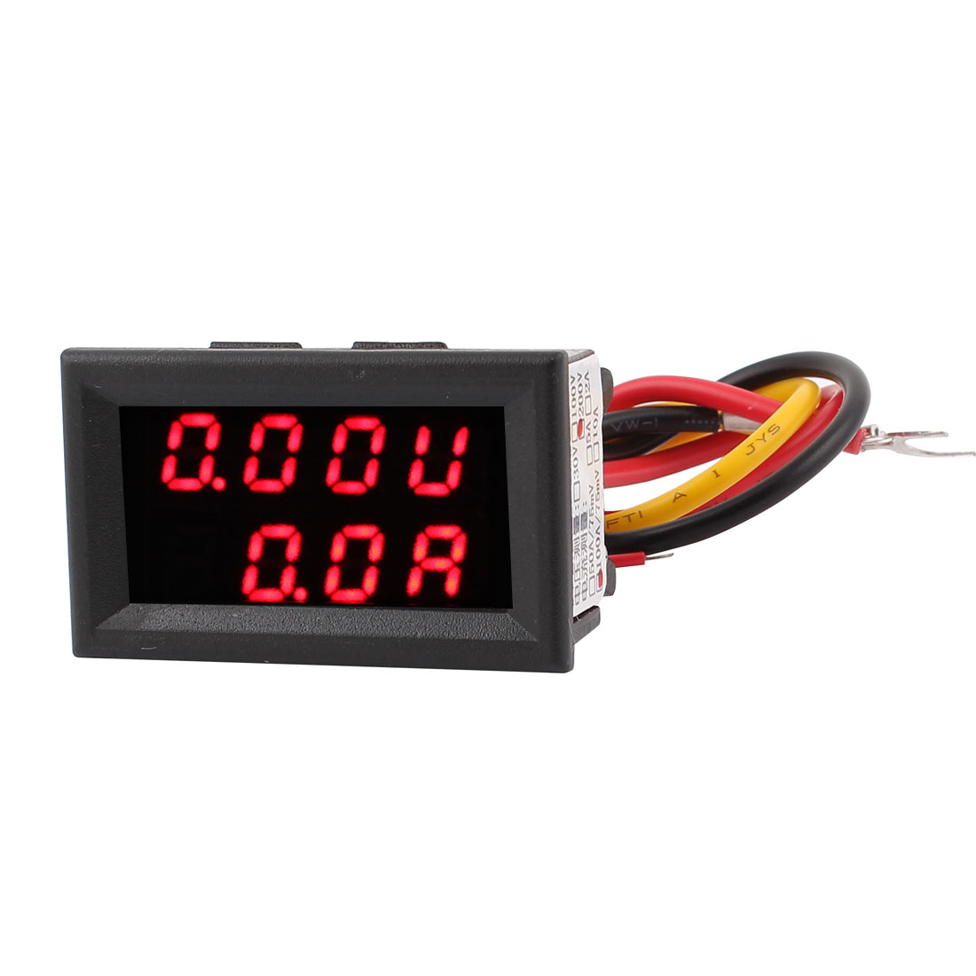 DC 0-200V 0-100A Red LED Dual Digital Display Panel Voltmeter Ammeter Meter
