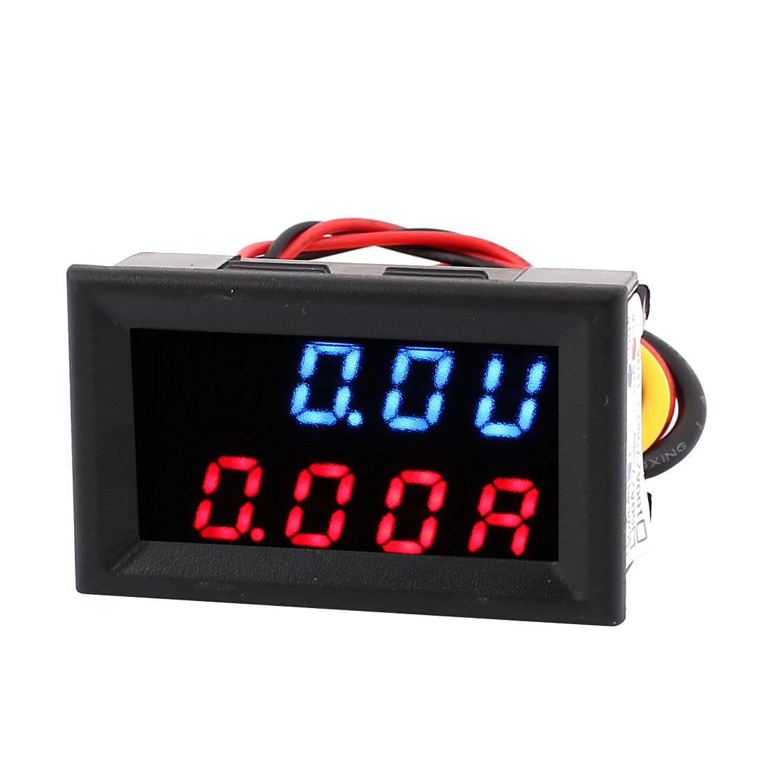 DC 0-200V 0-2A Dual LED Digital Power Battery Test Monitor Voltmeter Ammter