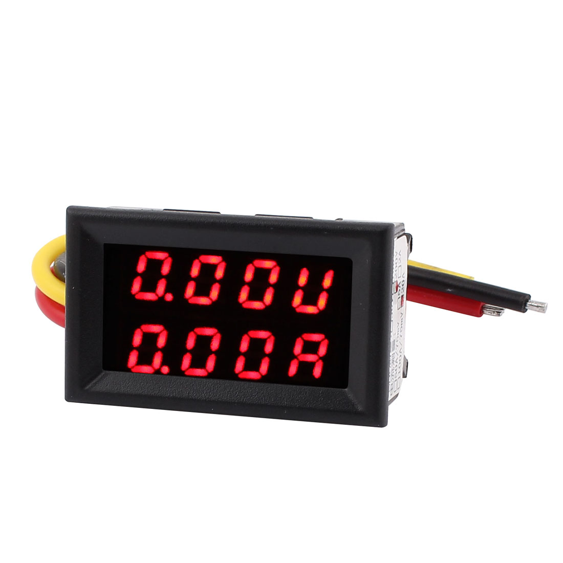 DC 0-200V 0-20A Red Red LED Dual Digital Panel Voltmeter Ammeter Meter Gauge