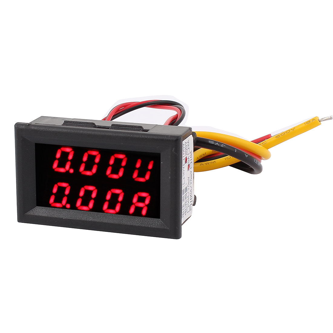 DC 0-200V 0-5A Dual LED Digital Mobile Battery Tester Monitor Voltage Current Meter