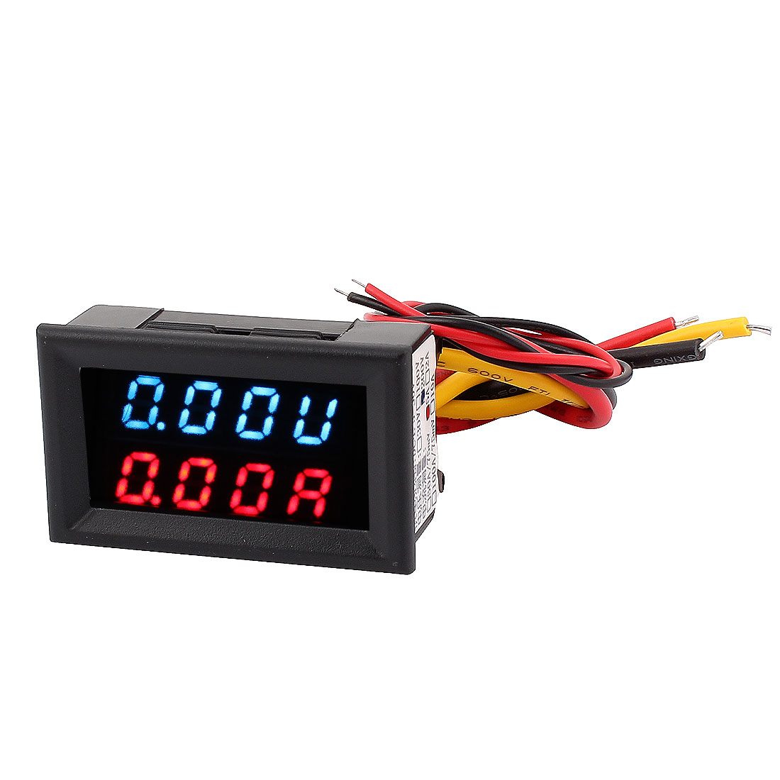 DC 0-200V 0-5A Dual LED Digital Battery Charger Tester Voltmeter Ammeter