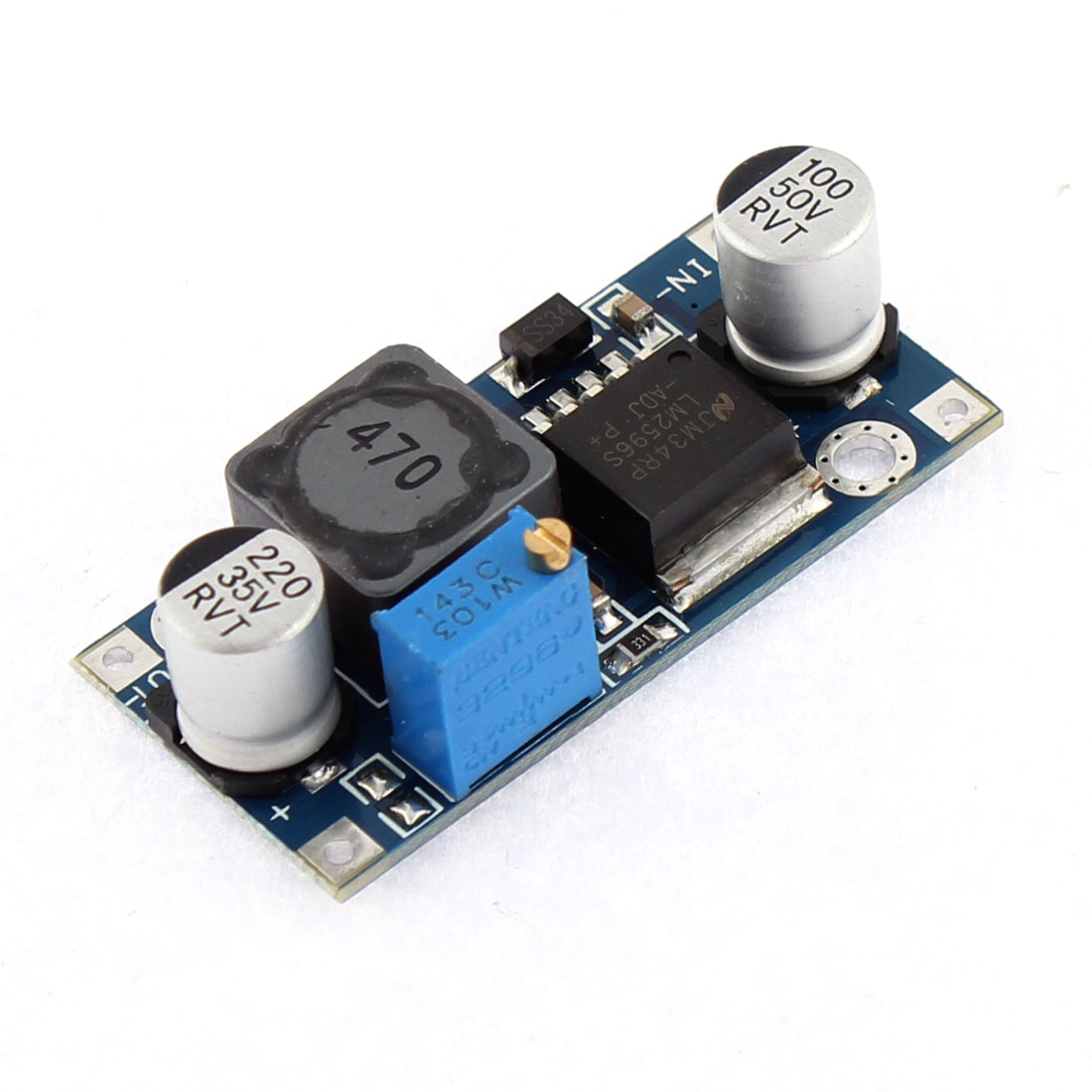 DC-DC Adjustable Buck Step Down Power Supply Module Converter Regulator LM2596