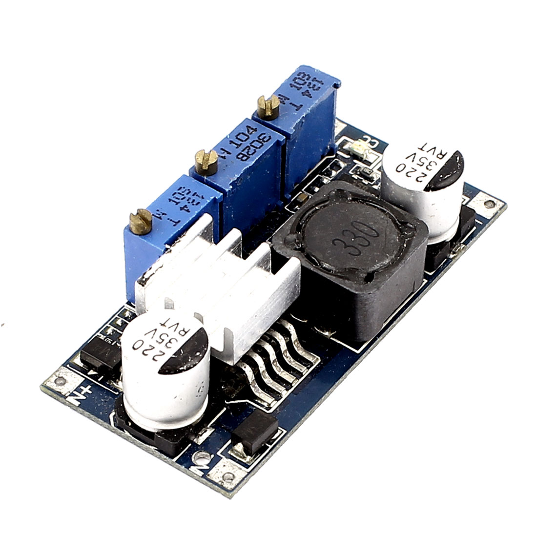 LM2596 DC-DC Adjustable Step-down CC/CV Charging Module for LED Lithium Battery