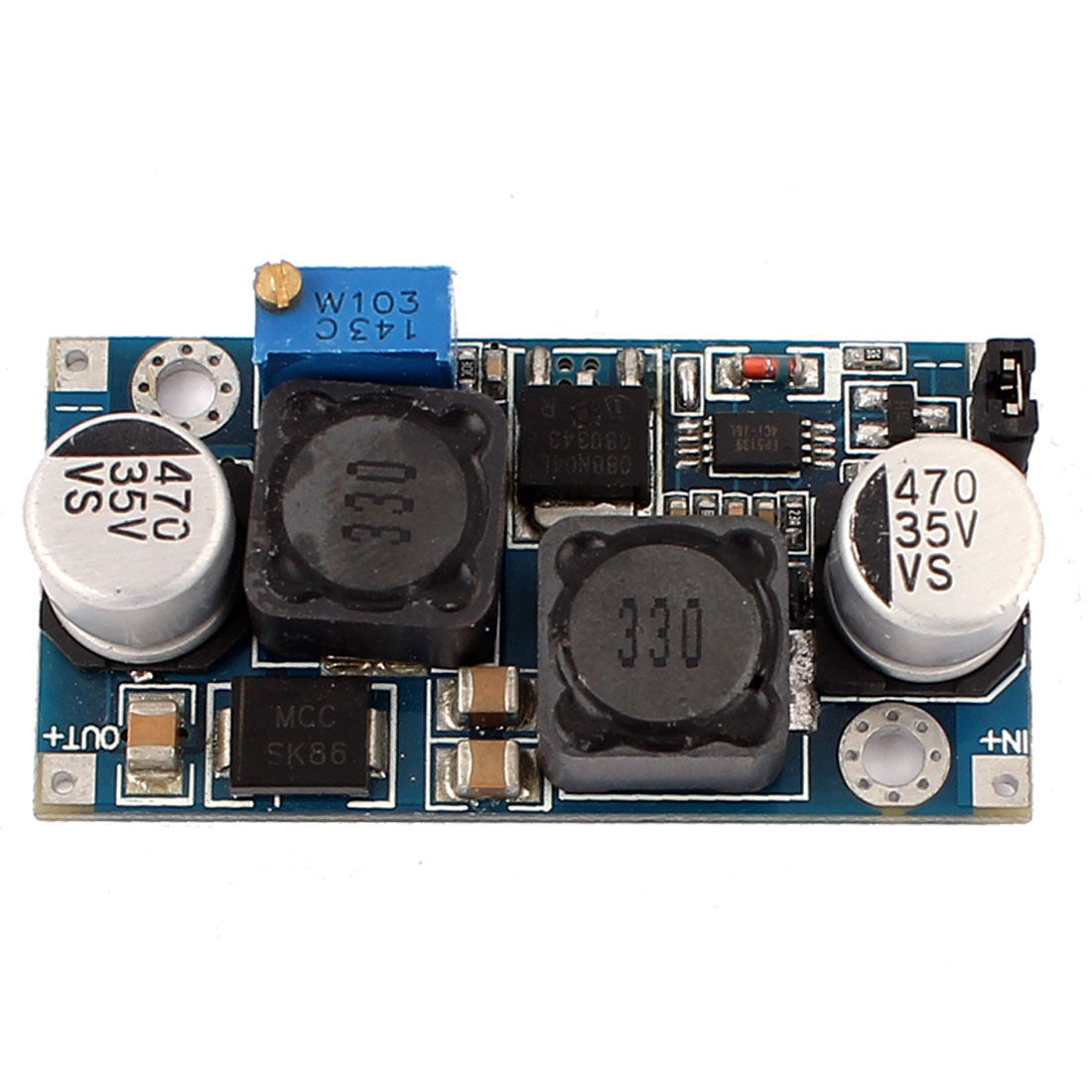 New DC-DC Solar Voltage Auto Boost Buck SEPIC Step Up Step Down Converter Module