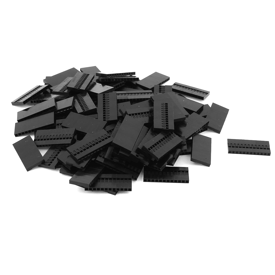 100pcs 12P 2.54MM Pitch IDC Socket Jumper Wire Female Housing