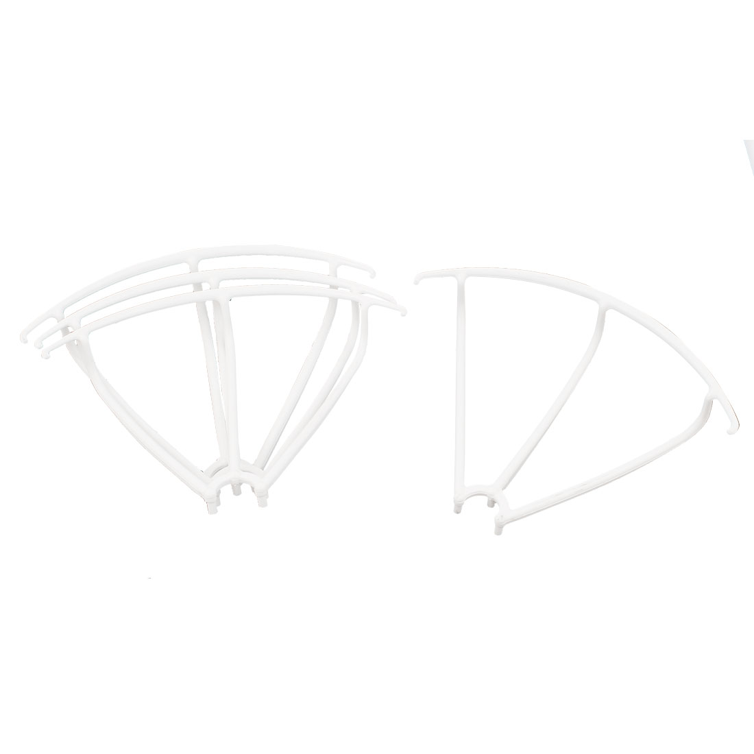 Set Spare Parts Guard Protection Cover Frame White for MJX X400 RC Quadcopter