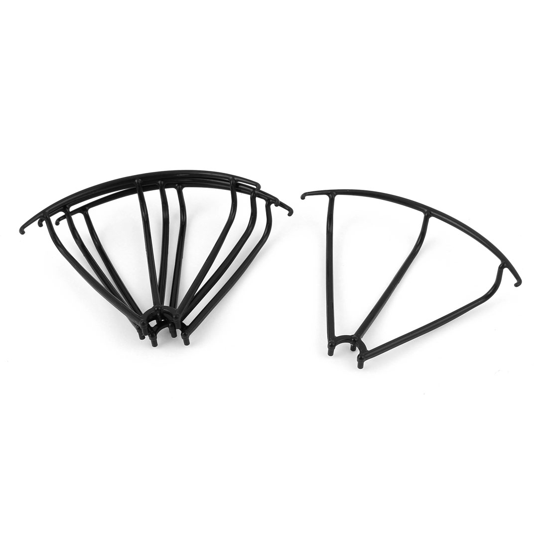 Set Spare Parts Guard Protection Cover Frame Black for MJX X400 RC Quadcopter