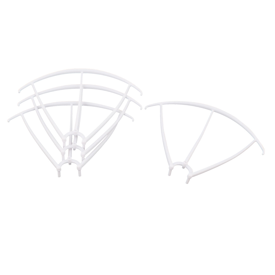 Set Spare Parts Guard Protection Cover Frame White for Syma X5 X5C RC Quadcopter