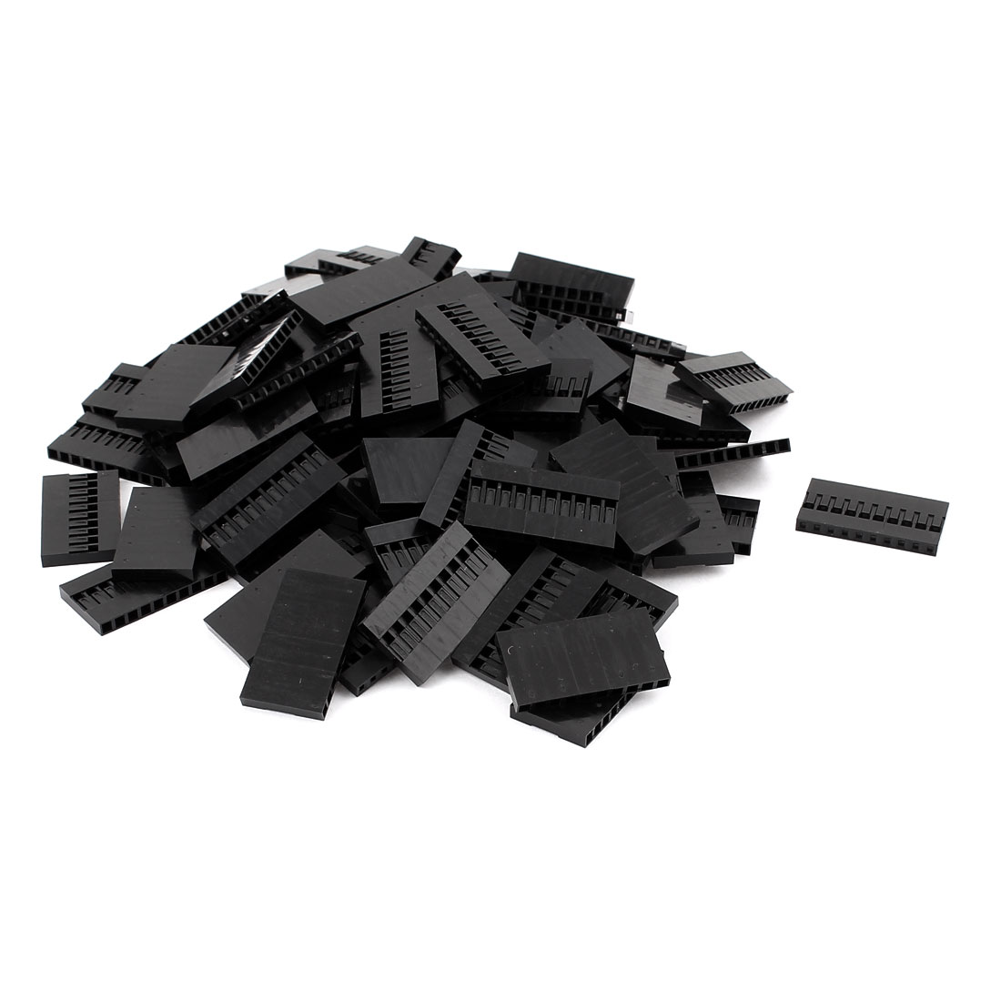100pcs 10 Position 2.54MM Pitch IDC Socket Jumper Wire Female Housing