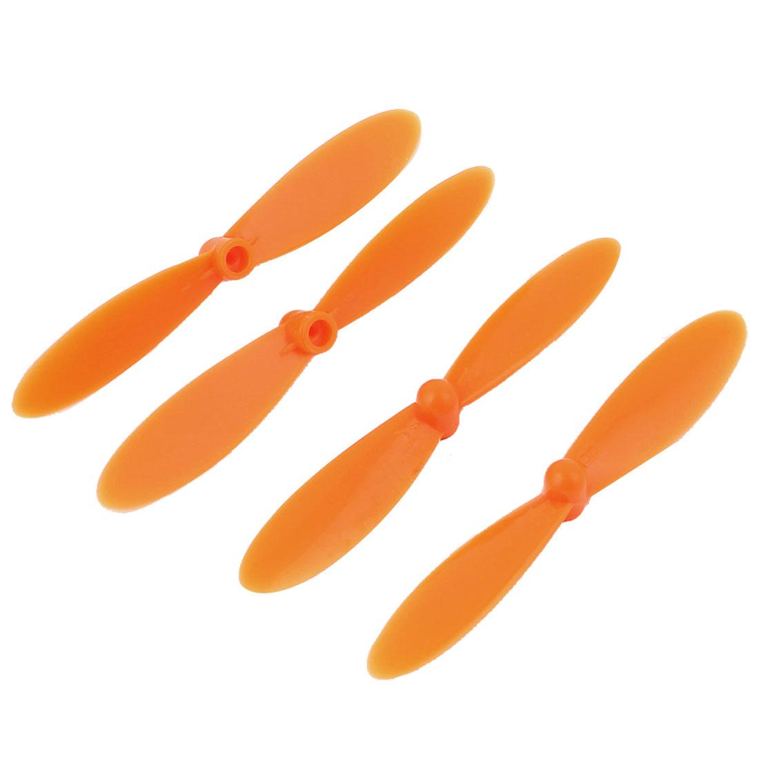 Hubsan X4 H107C H107D Quadcopter Propellers Rotors Props Vanes Set Orange