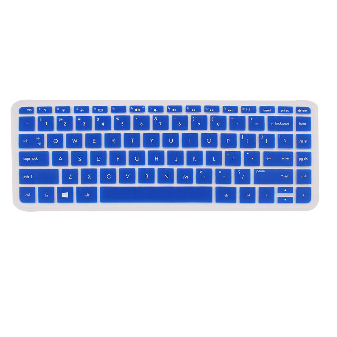Blue Silicone Computer Keyboard Skin Protective Film for HP030