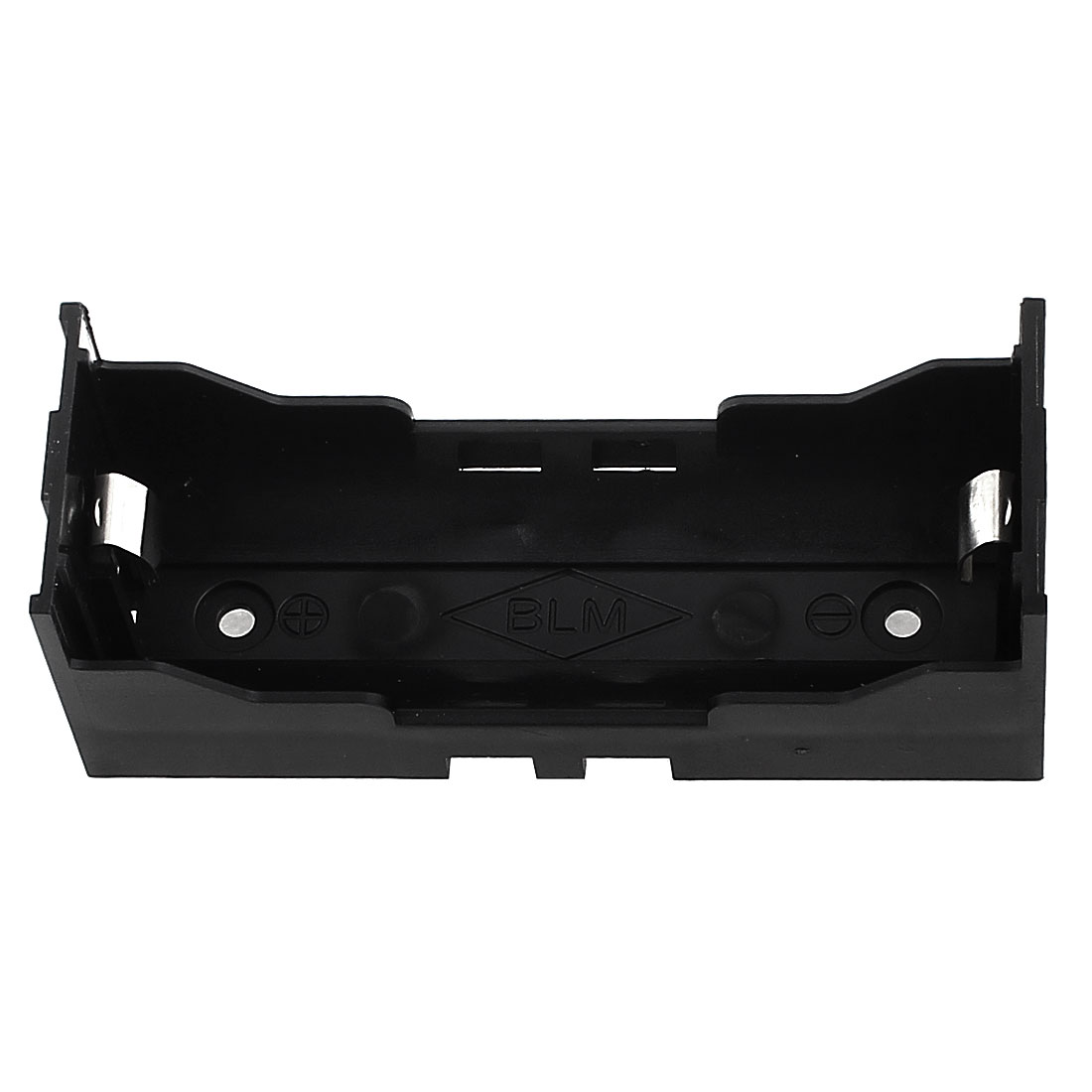 Plastic Single 26650 Battery Holder Case Storage Box Black