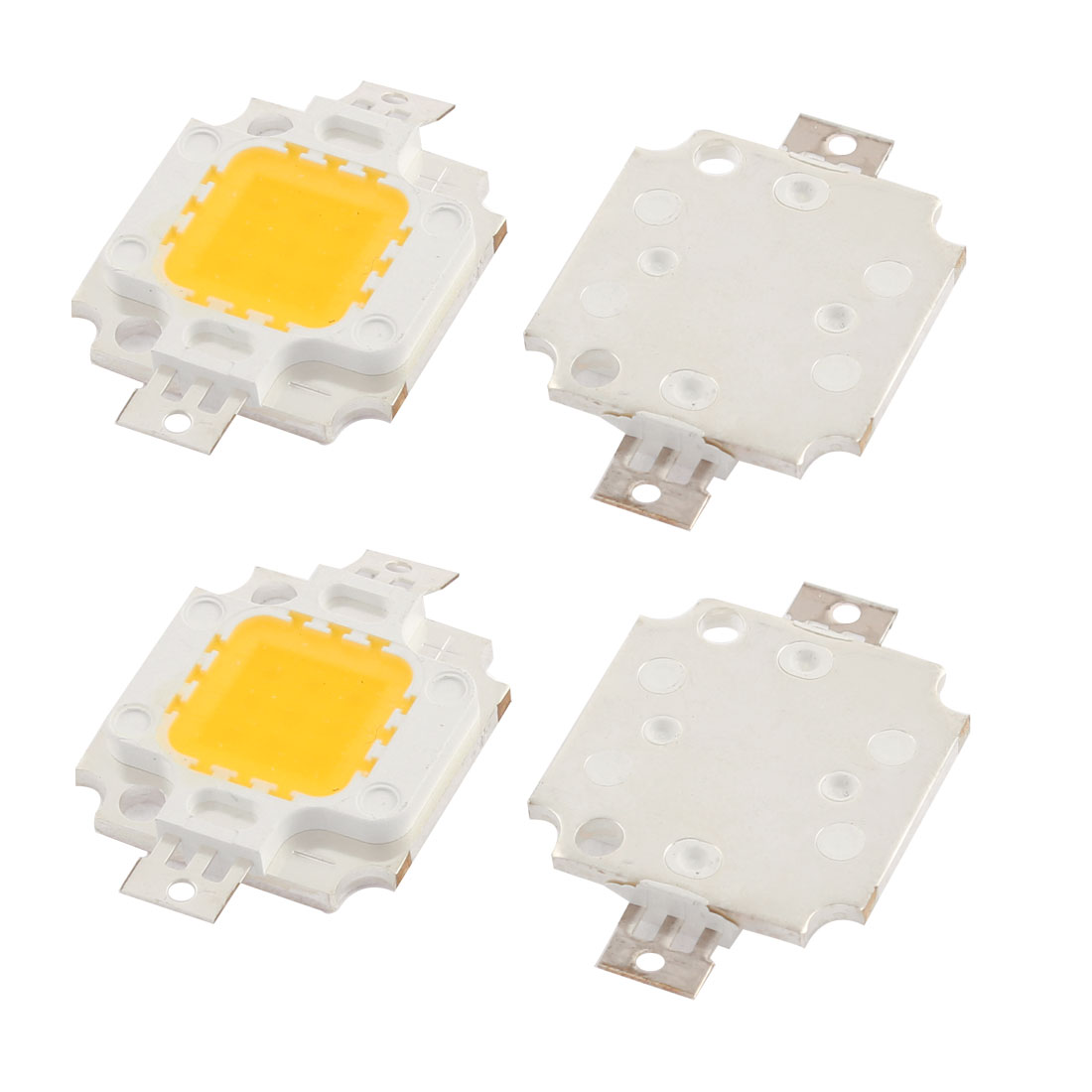 Warm White 10W 850-900LM High Power LED SMD Chip Light Lamp Bead 4 PCS