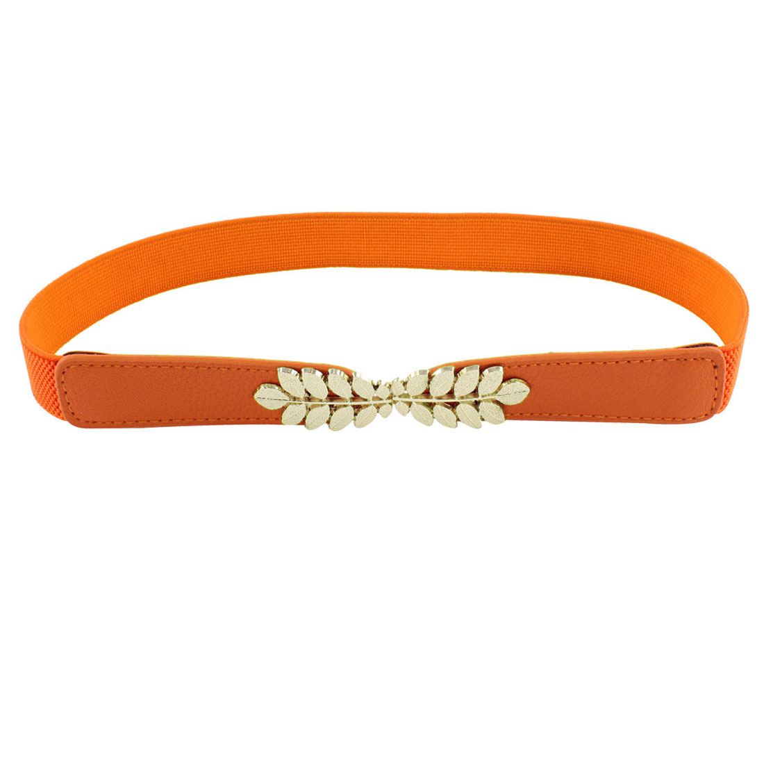 Lady Stretch Waist Belt Waistbelt Waistband 26-31inches Orange