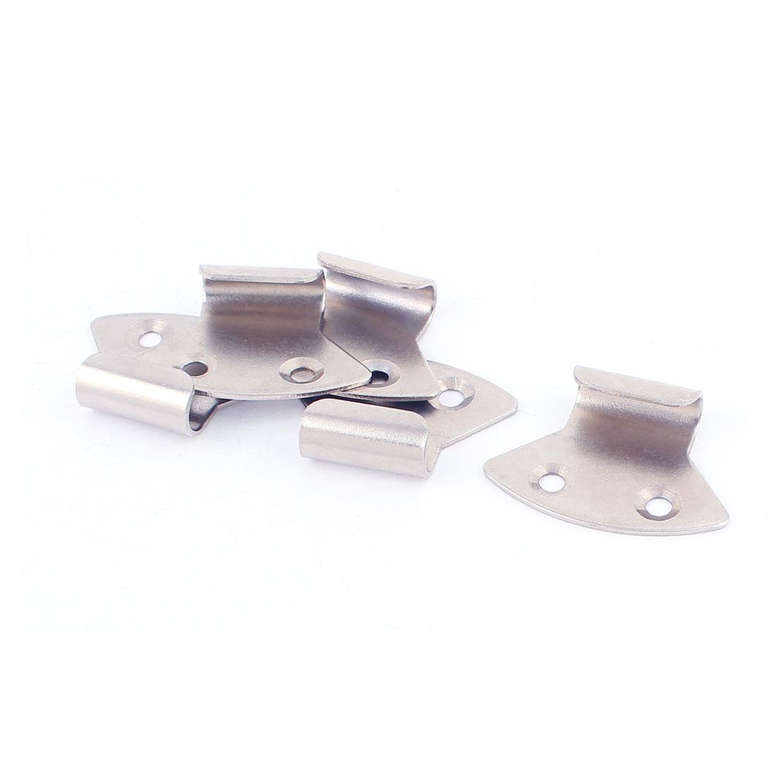 5 Pcs Metal Strike Plate 3.9cm x 2.7cm for Toggle Draw Latch