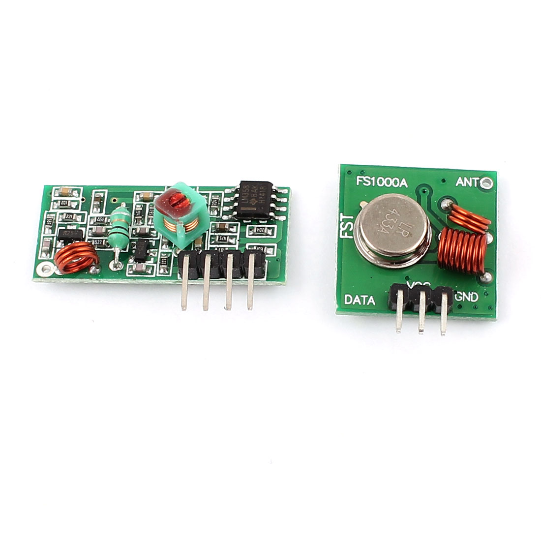 433MHz WL RF Transmitter w Receiver Module Kit for ARM MCU Wireless