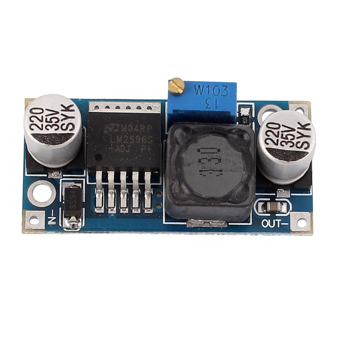 LM2596 Step Down Module DC-DC Buck Converter Power Supply 1.25V-35V Output