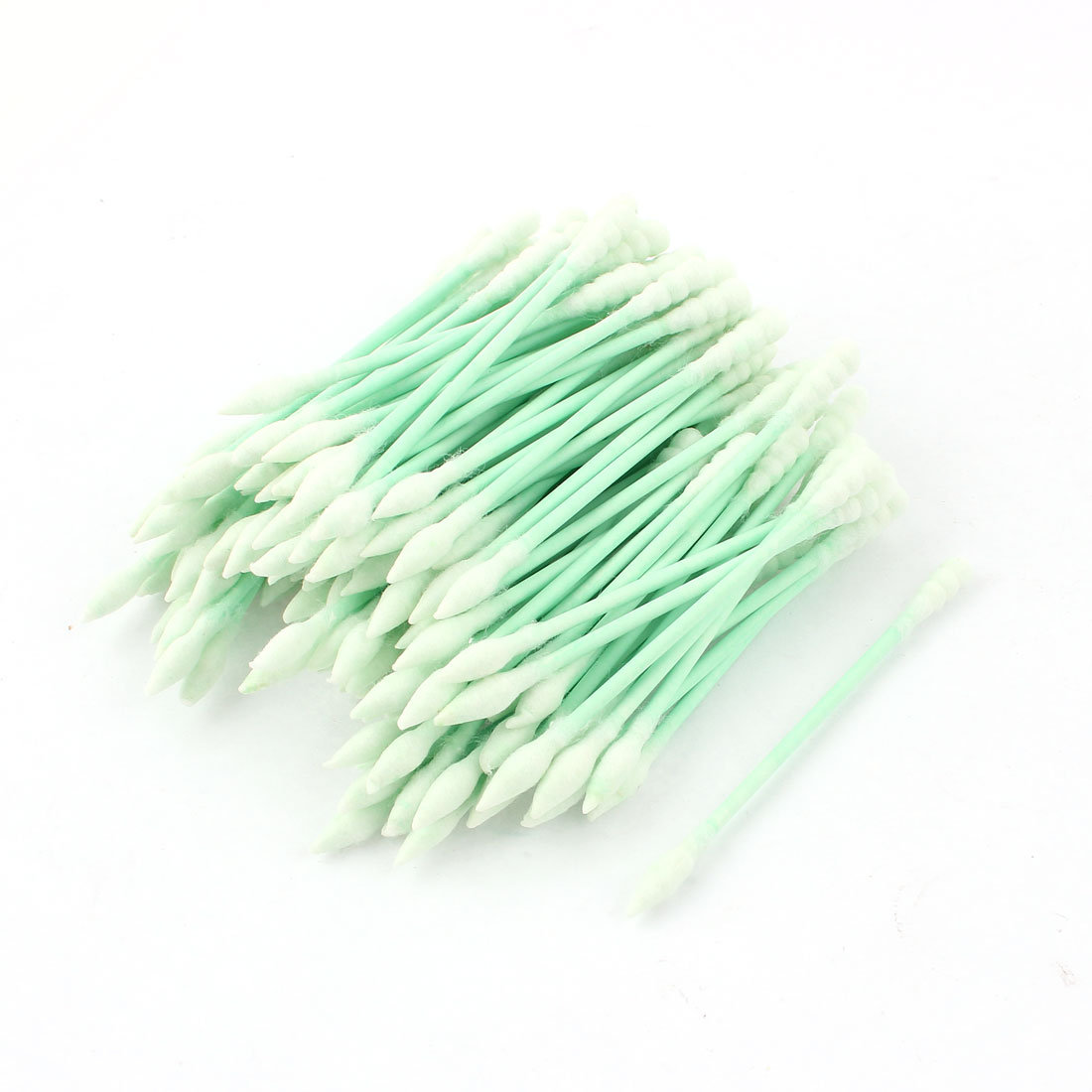 Wooden Rod Double Ended Makeup Remover Cotton Buds 100 Pcs