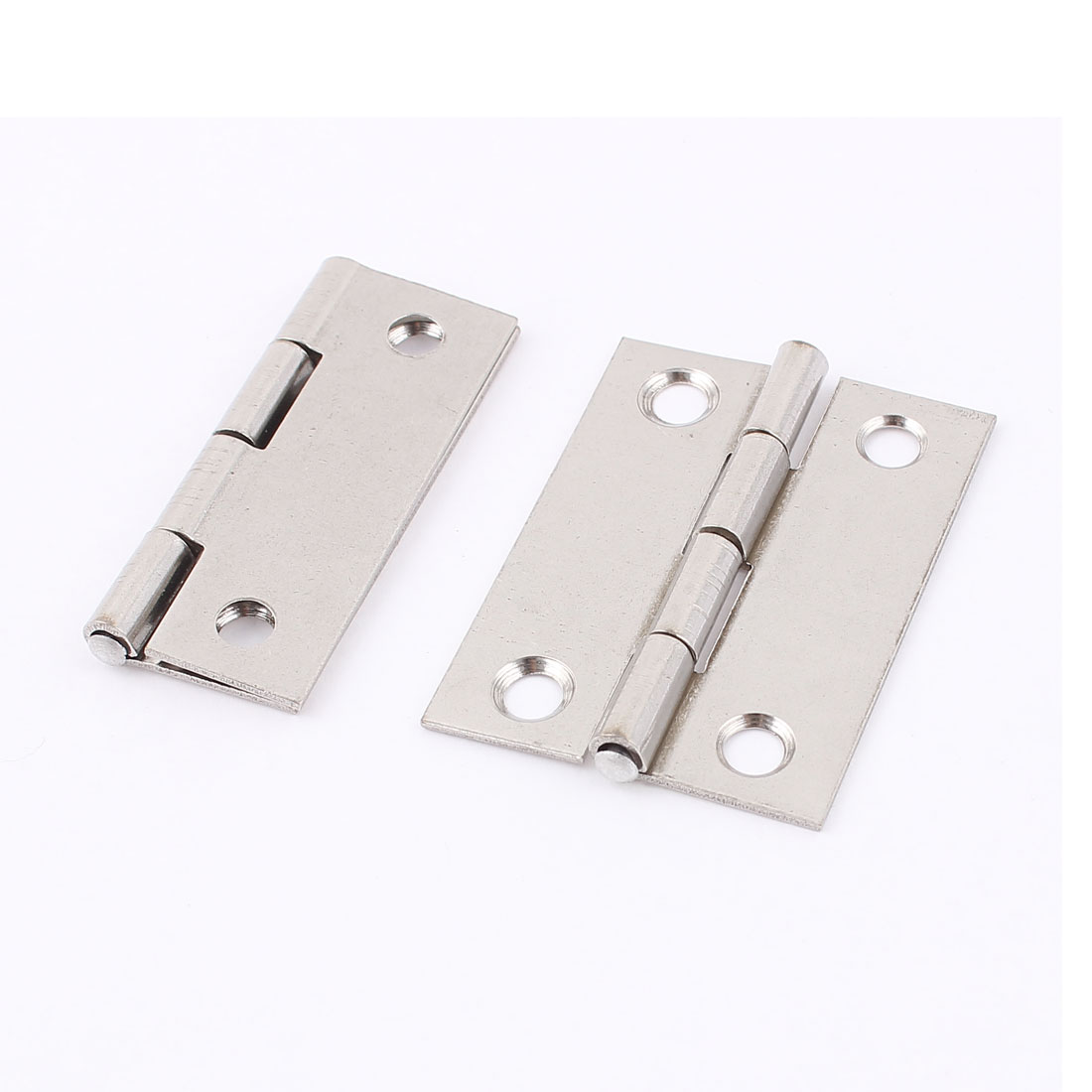 Furniture Door Cupboard Cabinet Screws Mounted Rotating Butt Hinge 2 Pcs