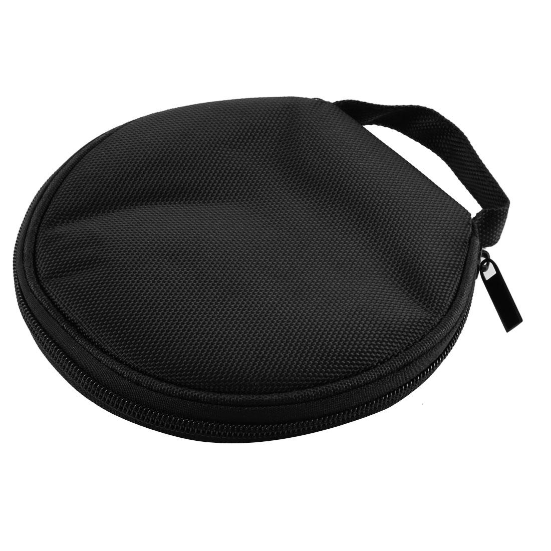 Zip Up CD DVD 20 Disc Storage Carry Case Wallet Disk Cover Holder Bag Black