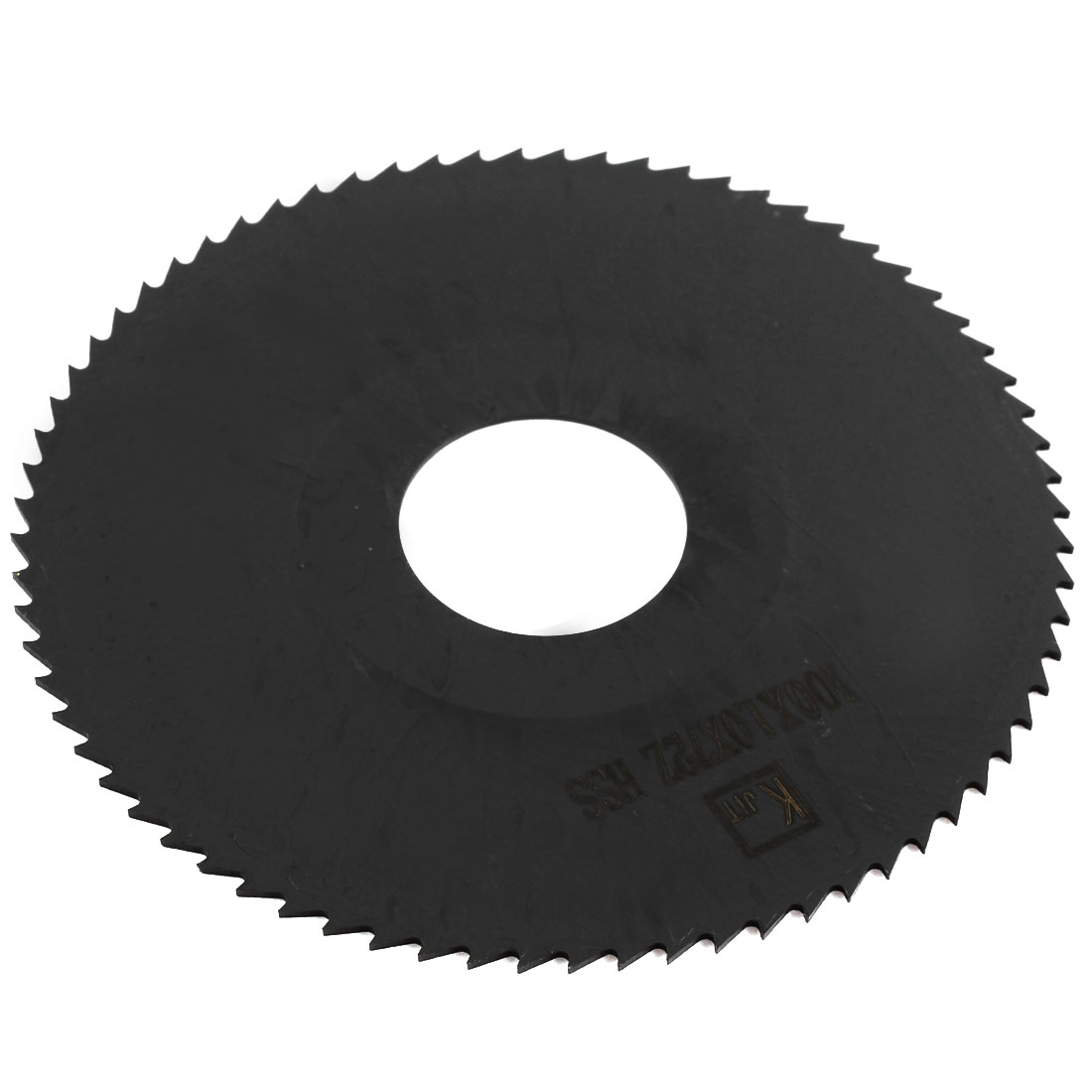 Black HSS 72 Teeth 100mm Dia 1mm Thickness Milling Cutter Slitting Saw