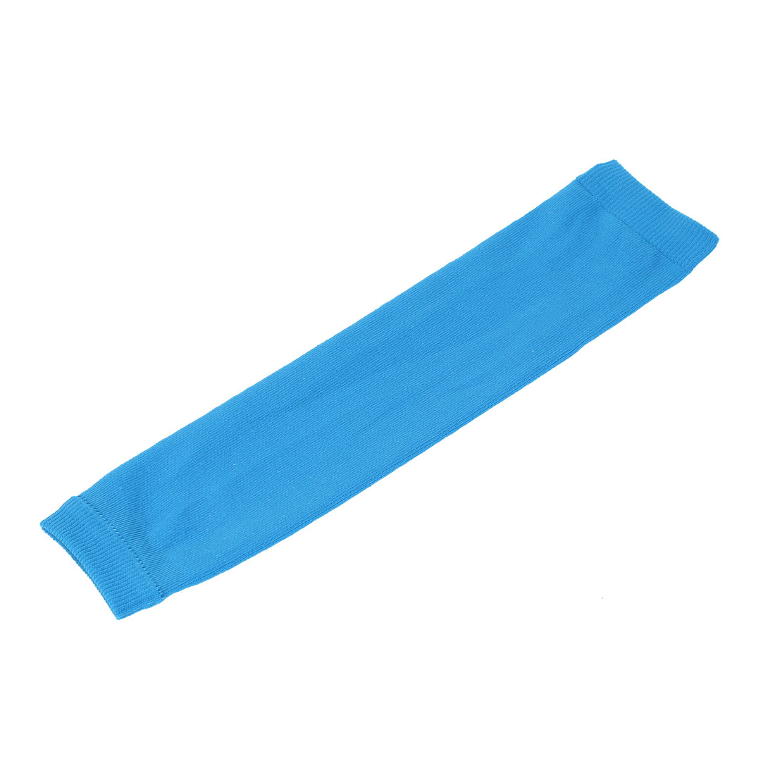 Cotton Elastic Unisex Outdoor Arm Sleeves for Basketball Cycling Sports Blue