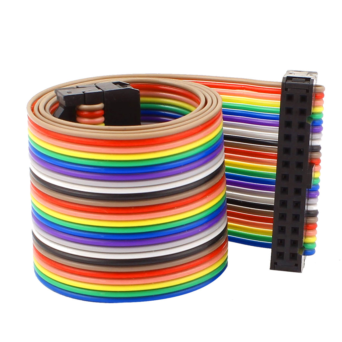 48cm 26pin 2.54mm Female to Female Breadboard IDC Wire Cable