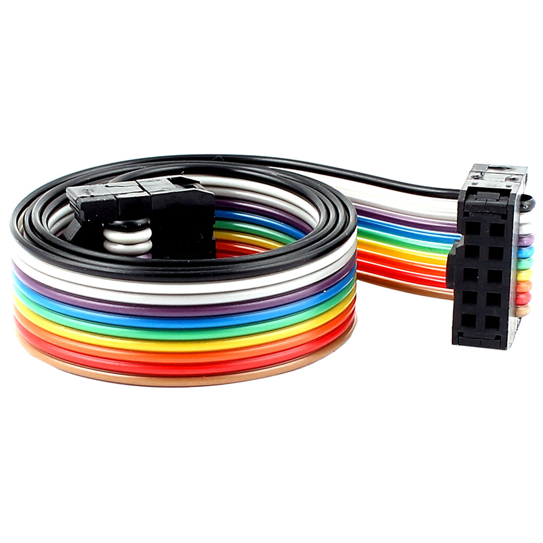 48cm 10pin 2.54mm Female to Female Breadboard IDC Wire Cable