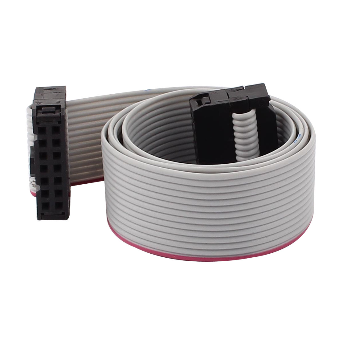 48cm 14-Pin 14 Way 2.54mm Pitch Female to Female IDE Extension Flat Ribbon Cable