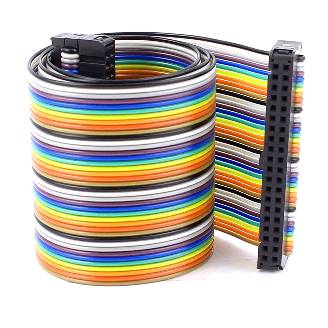48cm 40pin 2.54mm Female to Female Breadboard IDC Wire Cable