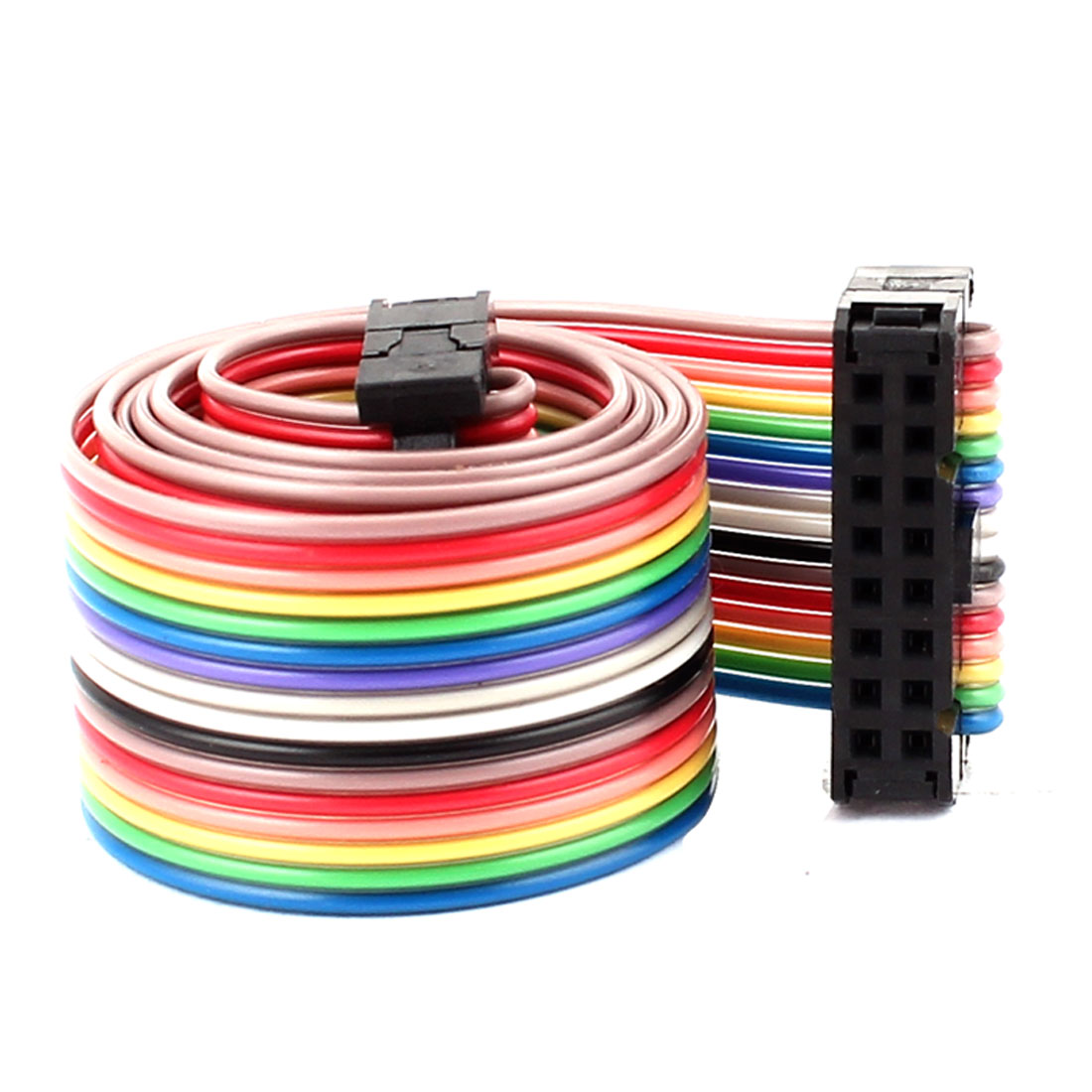 48cm 16pin 2.54mm Female to Female Breadboard IDC Wire Cable
