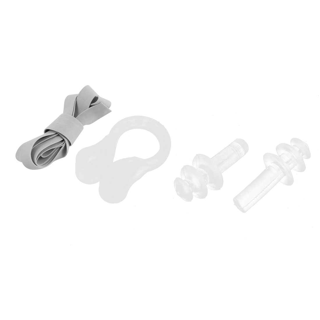 Soft Silicone Transparent Waterproof Hearing Protection Earplug