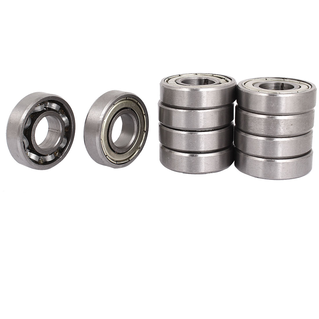 10pcs 17mm/40mm/12mm 17x40x12mm One Way Clutch Backstop Ball Bearing