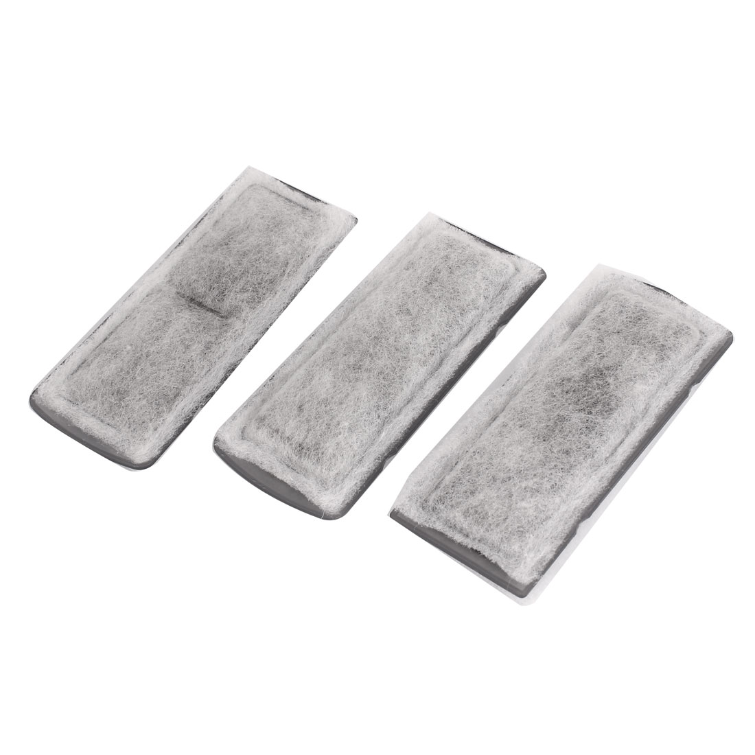 3 Pcs Gray Recycling Biochemical Filter Sponges Pad for Fish Aquarium