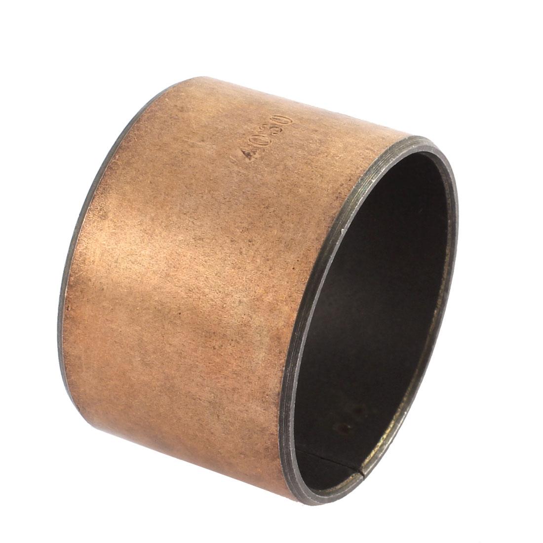 Self Lubricating Metal Plain Bearing Sleeve 40mmx30mmx30mm