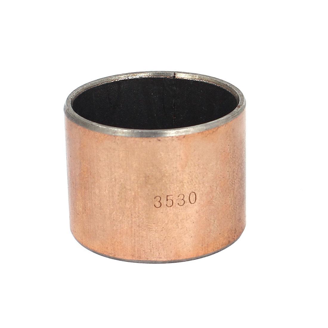 Self Lubricating Metal Plain Bearing Sleeve 40mmx35mmx30mm