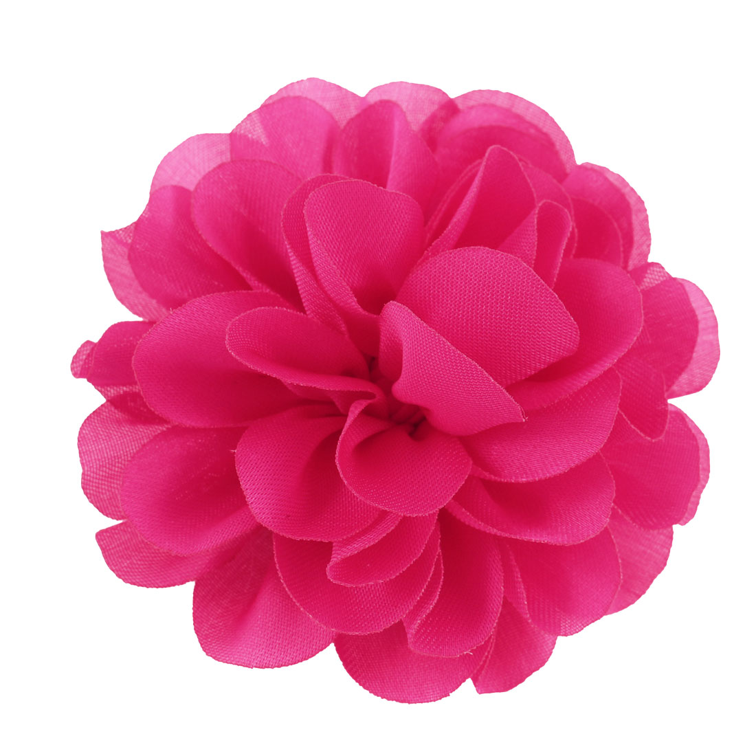 Woman Clothes Ornament Floral Design Flower Corsage Brooch Pin Pink