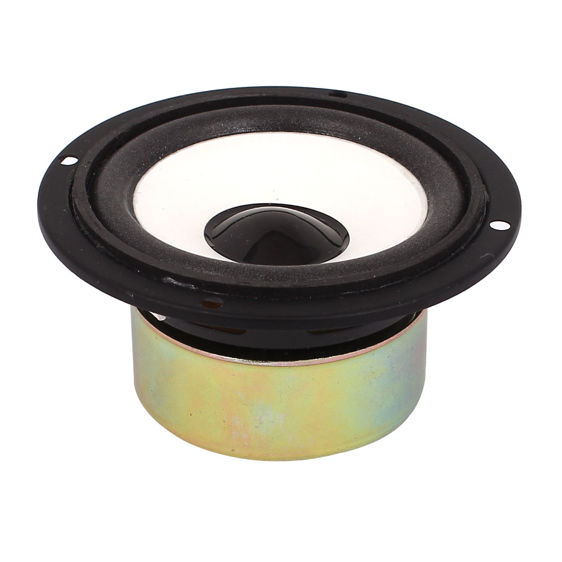 Multimedia 5W 5 Watt 4 Ohm 89mm Dia Round Aluminum Internal Magnet Speaker