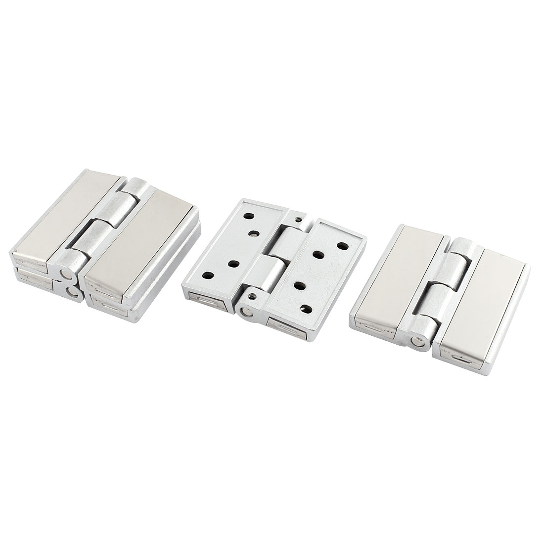 Window Cabinet Door 90 Degree Stopper Metal Hinge Hardware 64 x 60 x 11mm 4pcs