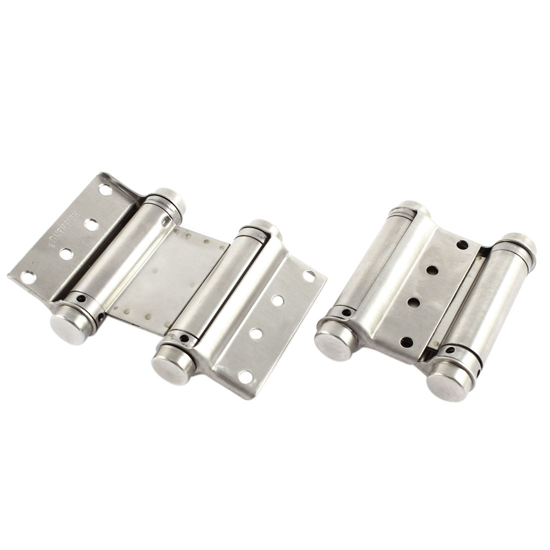 "Self Closing Double Action Concealed Door Spring Hinges Hardware 3"" 2pcs"