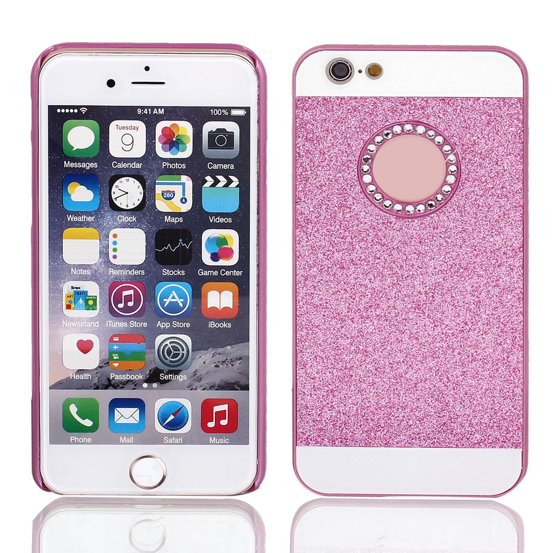 "Hard Plastic Skin Case Bumper Cover Fuchsia for Apple iPhone 6 Plus 5.5"""