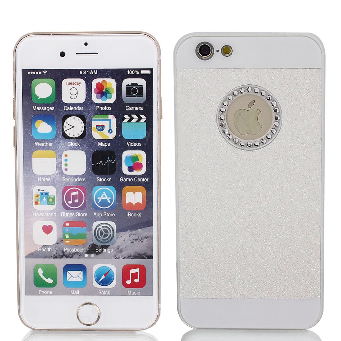 "Hard Plastic Skin Case Bumper Cover White for Apple iPhone 6 Plus 5.5"""
