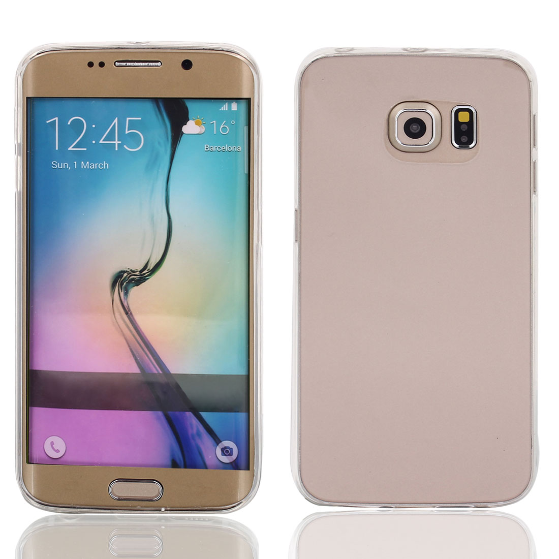 Soft TPU Case Cover Protective Transparent Clear for Galaxy S6 Edge G9200 G9250